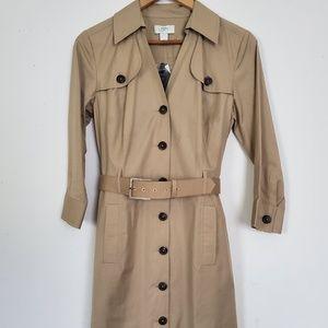 Ann Taylor Loft Trench Dress